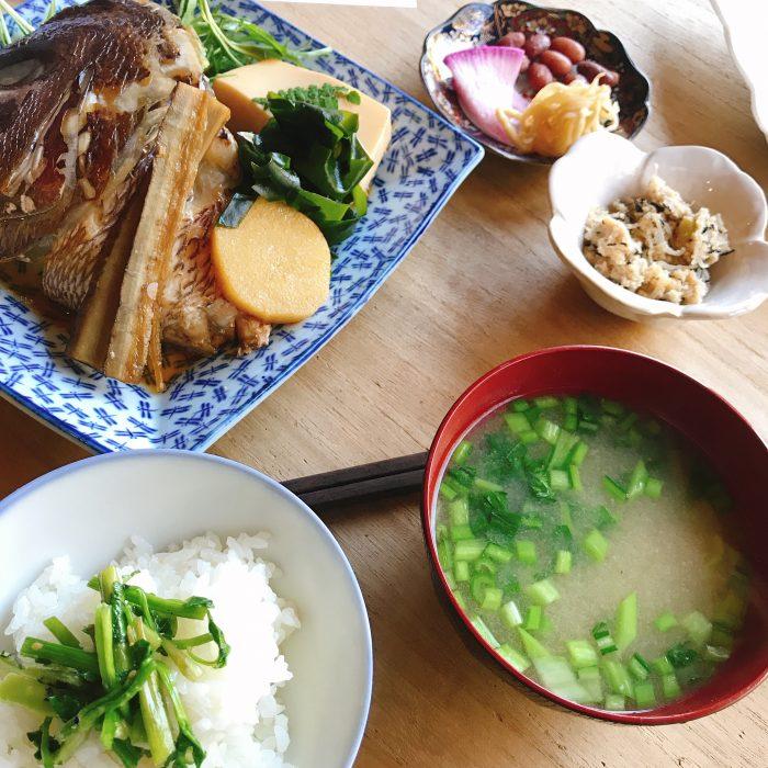 春のお魚と野菜をたっぷり食べる会